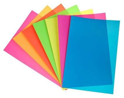 Бумага самоклеящаяся Erich Krause Artberry B5 флуоресцентная 7 листов 7 цветов мелованная