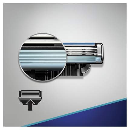Сменные кассеты Gillette Mach3 Start 4 шт