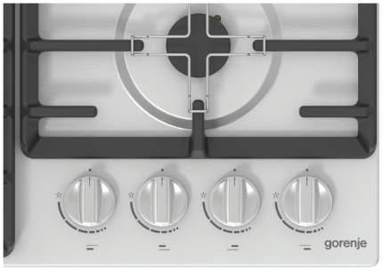 Встраиваемая варочная панель газовая Gorenje GW641ZX Silver