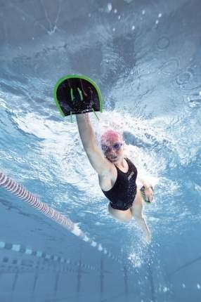 Лопатки для плавания Arena Flex Paddles 1E554 черные (55) M