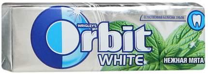 Жевательная резинка Orbit white нежная мята 13.6 г 10 штук