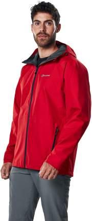 Спортивная куртка мужская Berghaus Paclite 2.0 Shell, red/red/haute red, L