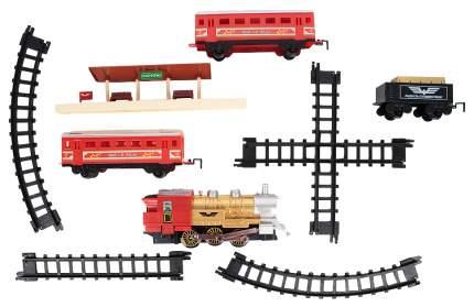 Железная дорога JOY TOY Мой первый поезд, 22 элемента, красная