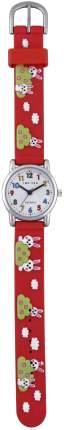 Детские наручные часы Тик-Так Н101-2 красные зайцы