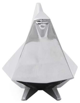 Держатель для колец Origami птица хром