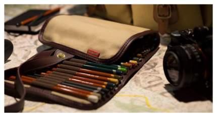 Пенал для карандашей, кистей Derwent «Свиток»