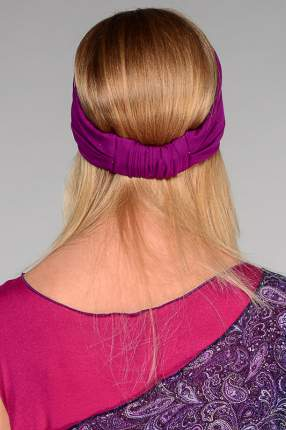 Повязка женская Lak Miss CHEL 8123 фиолетовая 56-58
