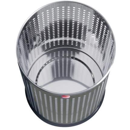 Корзина для бумаг перфорированная, Hailo ProfiLine basket M 16 л, цвет серебро