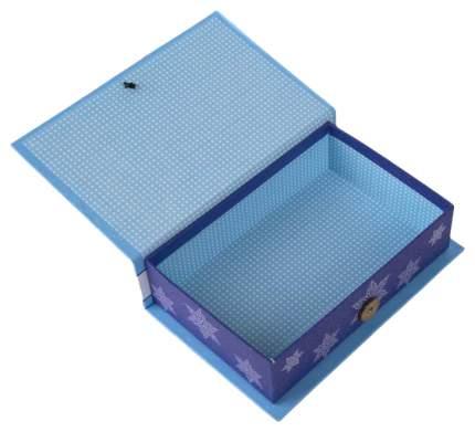 """Коробка подарочная """"Елочка в голубом-S"""", 18х12х5 см"""