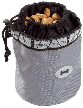 Мешочек для лакомств Ferplast Treats Bag, черно-серый, 12х13см