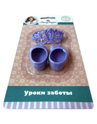 Набор принадлежностей для куклы 43см туфли и корона Mary Poppins