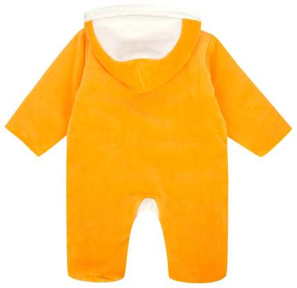 Комбинезон ЛЕО Утенок оранжевый, размер 74