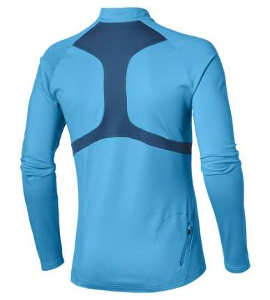 Лонгслив Asics 1/2 Zip Winter Top, blue, M INT