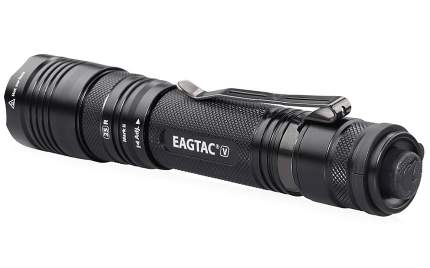Туристический фонарь Eagletac T25V XHP70.2 нейтральный, черный, 11 режимов