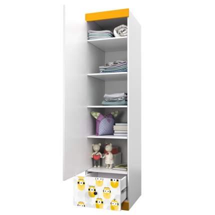 Детский шкаф-пенал Polini kids Fun 460 Миньоны, желтый