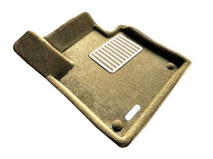 Комплект ковриков в салон автомобиля для Volvo Euromat Original Lux (em3d-005509t)