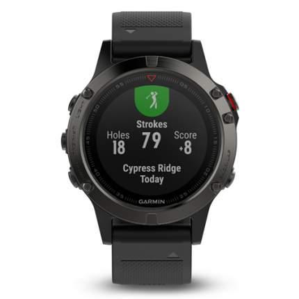 Смарт-часы Garmin Fenix 5 Sapphire черные