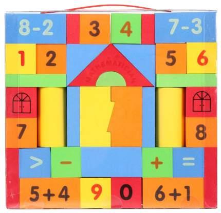 Конструктор мягкий Игруша блочный 39 деталей