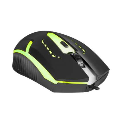 Проводная мышка Defender Hit MB-601 Black (52601)