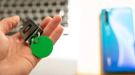 Поисковый трекер Chipolo Classic (CH-M45S-GN-O-G) зелёный