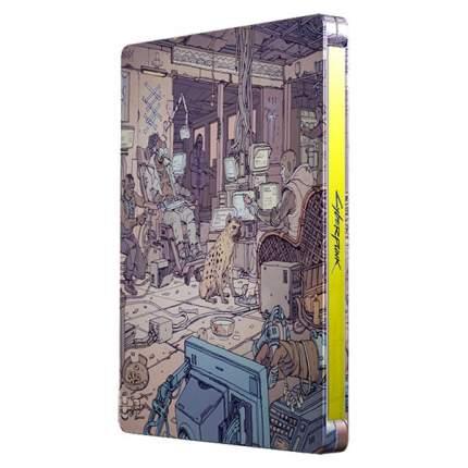 Игра Cyberpunk 2077 Steelbook + Comicbook. Voodoo для PlayStation 4