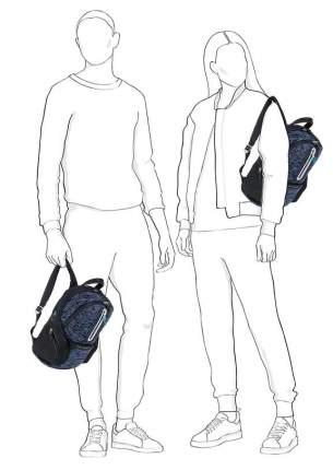 Рюкзак унисекс Piquadro CA3936OS37/BLU синий 16 л