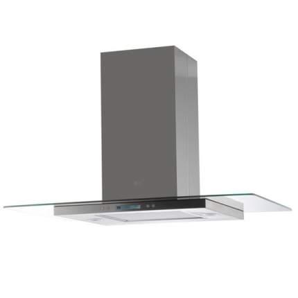 Вытяжка островная Elica Flat Glass Plus Island IX/A/90 Silver