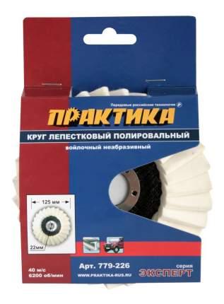 Круг лепестковый радиальный для дрелей, шуруповертов Практика 779-226