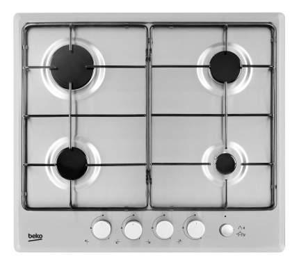 Встраиваемая варочная панель газовая Beko HIMG 64233 SX Silver