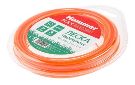 Леска для триммера Hammer Flex 216-101 TL ROUND (38657)