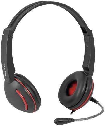 Игровые наушники Defender Aura 115 Red/Black