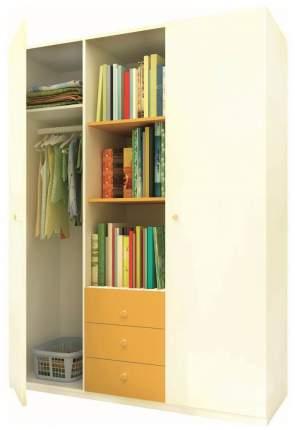 Шкаф Фея трехсекционный Белый солнечный