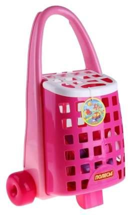 Детская кухня Полесье Тележка Забавная Palau Toys с набором детской посуды 44389