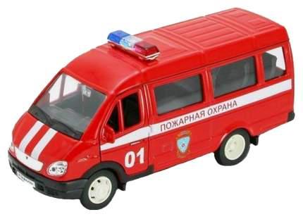 Коллекционная модель Welly Газель Пожарная охрана 42387AFS 1:34