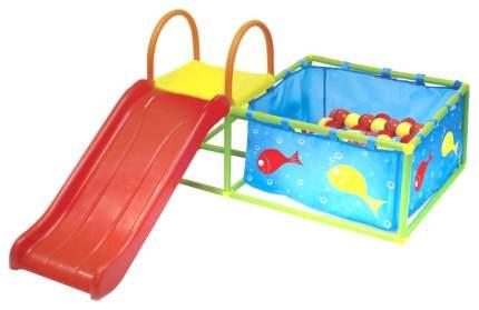 Горка и бассейн Bradex Семицветик с шариками