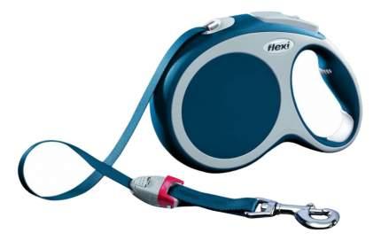 Поводок-рулетка flexi VARIO S, синяя, до 15 кг, 5м