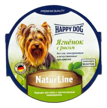 Консервы для собак Happy Dog NaturLine, ягненок, рис, 85г