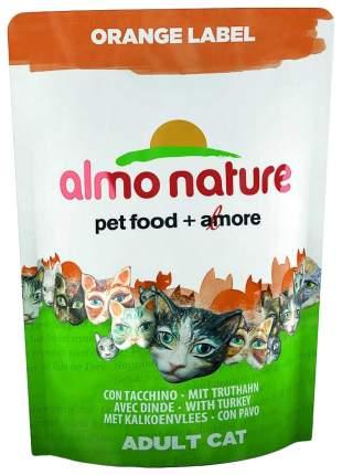 Сухой корм для кошек Almo Nature Orange Label, для стерилизованных, индейка, 105 г х 12 шт
