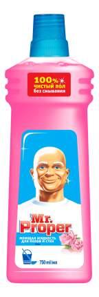 Универсальное чистящее средство для мытья полов Mr. Proper роза 750 мл