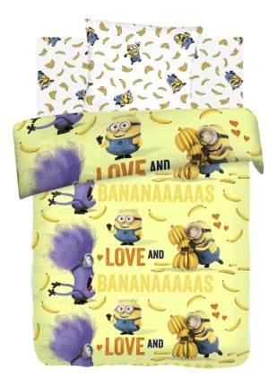Постельное белье ОТК 1,5-спальное Миньоны Бананас