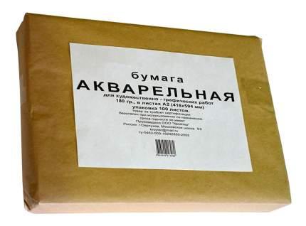 Бумага для рисования Kroyter Акварель 100 шт.