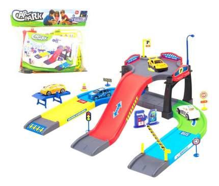 Парковка игрушечная Junfa Toys, 48 предметов P83