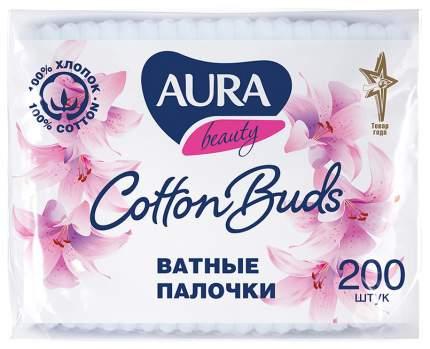 Ватные палочки AURA Beauty 200 шт