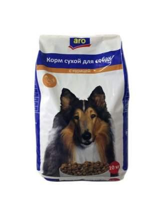 Сухой корм для собак Aro, курица, 10кг
