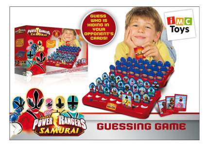 Семейная настольная игра IMC toys Угадай кто Могучие рейнджеры