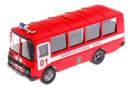 Пожарная машина Autotime ПАЗ-32053 Пожарная охрана 1:43