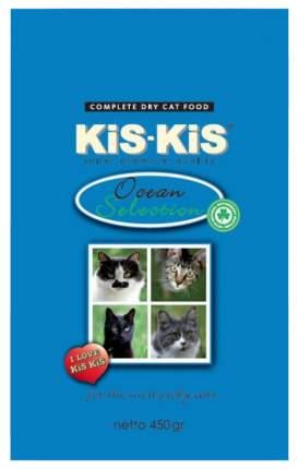 Сухой корм для кошек KiS-KiS, домашняя птица, рыба, 0,45кг