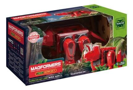 Конструктор магнитный Magformers Dino Cera set