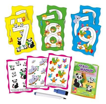 Семейная настольная игра Vladi Toys Чудо-маркер Зоопарк