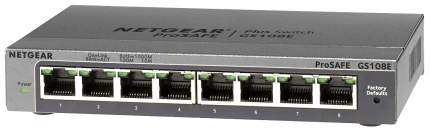 Коммутатор NetGear GS108E-300PES Серый
